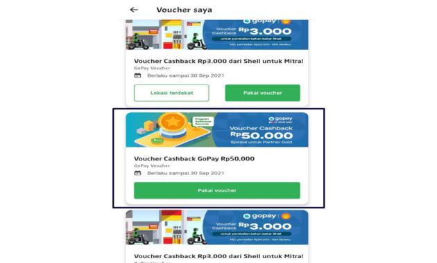 Cara pakai voucher gopay Alfamart IV